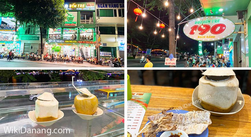 Rau câu trái dừa đường Bạch Đằng Đà Nẵng – Địa điểm hóng mát lý tưởng